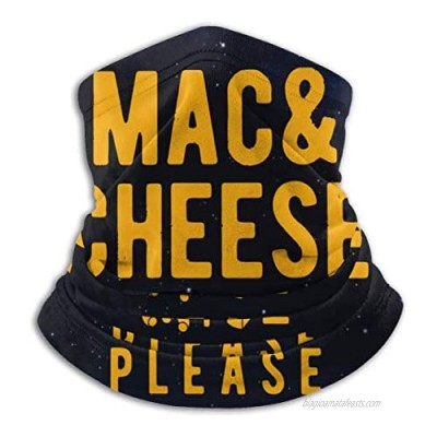 Mac And Cheese Please Men Women Cold Weather Neck Gaiter Tube Face Mask