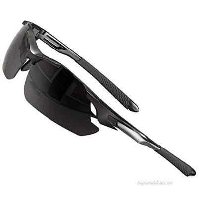 ATTCL Sunglasses For Men - Upgraded Sports Polarized Sunglasses for Women Cycling Driving Fishing UV Protection
