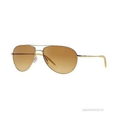 Oliver Peoples Men OV1002S BENEDICT Gold/Yellow Sunglasses 59mm
