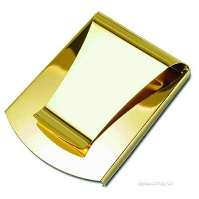 Storus Smart Money Clip  Slim Double-Sided w/Clip + Channel Side  Stainless Steel