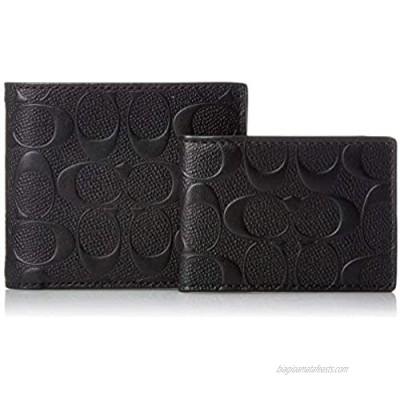 Coach Men's Coin Wallet  Black  One Size