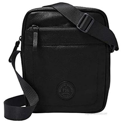 Fossil Men's Leather Courier Messenger Bag