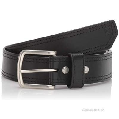 5.11 Tactical Men's 1.5-Inch Full Grain Matte Leather Arc Belt  Ergonomic Curve  Style 59493