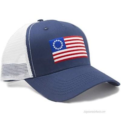 International Tie Premium Flag Hats - Snapback Trucker Baseball Hat