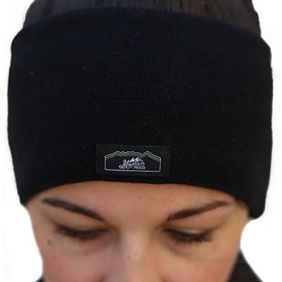Mountain Made Winter Headband  Black