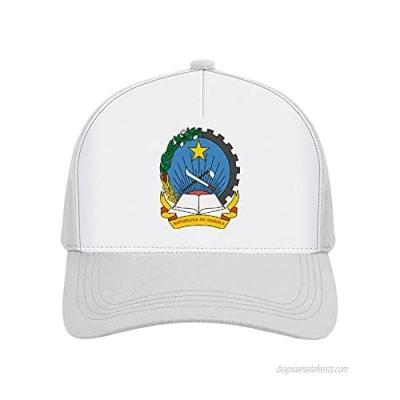Jovno Cowboy Sun Hats Emblem of Angola Outdoor Shapeable Fashion Panama Sun Fisherman Hat