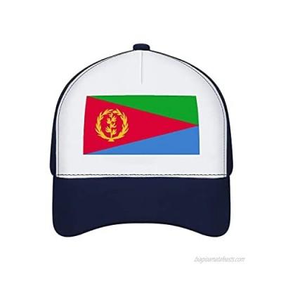 Jovno Cowboy Sun Hats Eritrea Flag Outdoor Shapeable Fashion Panama Sun Fisherman Hat