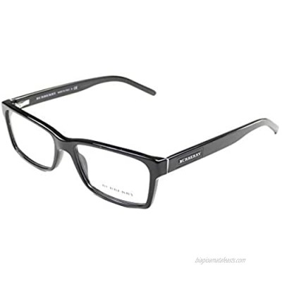 Burberry BE2108 Eyeglass Frames 3001-5416 - Black BE2108-3001-54