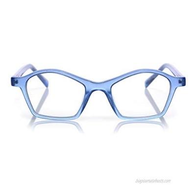 eyebobs Firecracker Unisex Premium Reading Glasses for Men and Women   Square Eye Glasses
