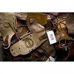 Rustic Leather Key Chain Lanyard Handmade by Hide & Drink :: Bourbon Brown